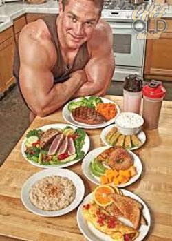 อาหารนักเพาะกาย